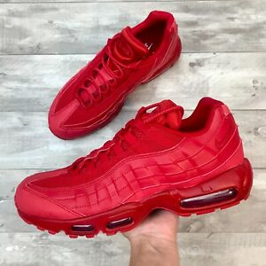 Details about *New* Nike Air Max 95 Triple Red Men's Size 11