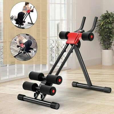 OneTwoFit AB Abdominal Exercise Machine Cruncher Trainer Fitness Full Body Gym