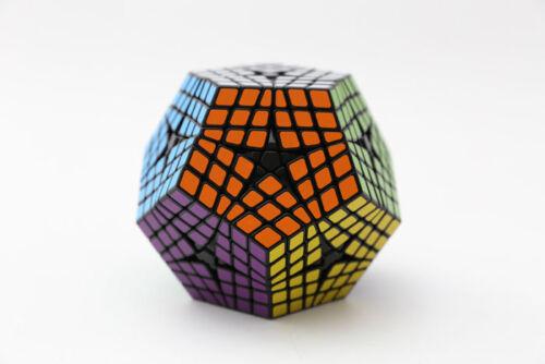 Very Rare Shengshou Seraminx 12-Sided 6-layered Megaminx Twist Puzzle Black