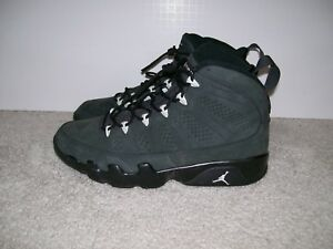 new arrivals a09b4 77114 Image is loading SZ-10-5-Air-Jordan-IX-9-Anthracite-