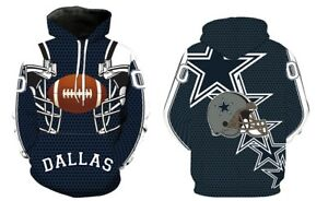 NEW-Dallas-Cowboys-Sport-Hoodie-Sweatshirt-Hooded-Jumper-Jacket-Coat-US