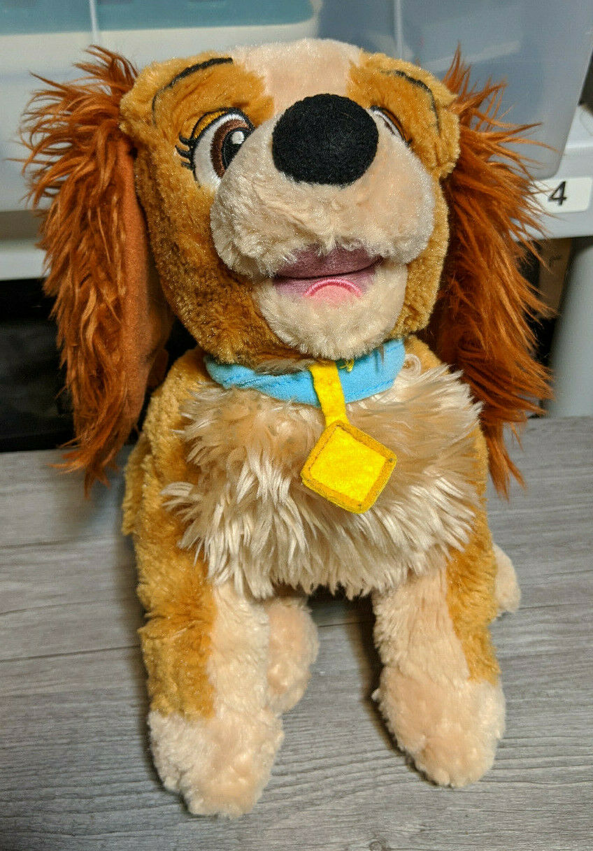 Disney Lady And The Tramp 20cm Trusty Plush Soft Dog Doll Toy Included For Sale Online Ebay