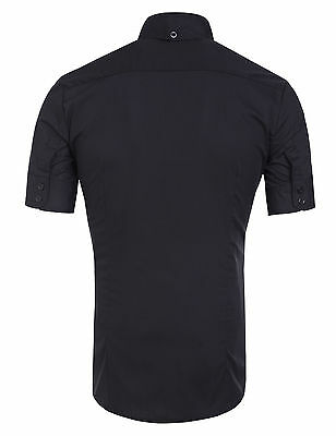 2014 Smart Mens Boys Slim Fit Casual/Formal Dress Shirt Short Sleeve Shirts Tops