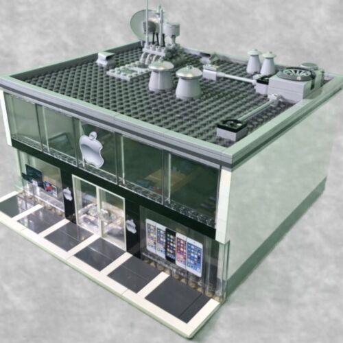 LEGO Custom APPLE STORE - HUGE CUSTOM LEGO MODEL! PERFECT FOR ANY LEGO LOVER!