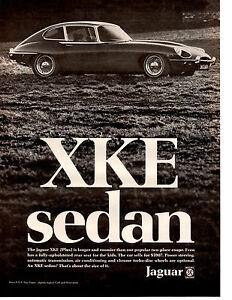 1969 jaguar xke xk e sedan 22 classic original print ad ebay image is loading 1969 jaguar xke xk e sedan 2 2 freerunsca Choice Image