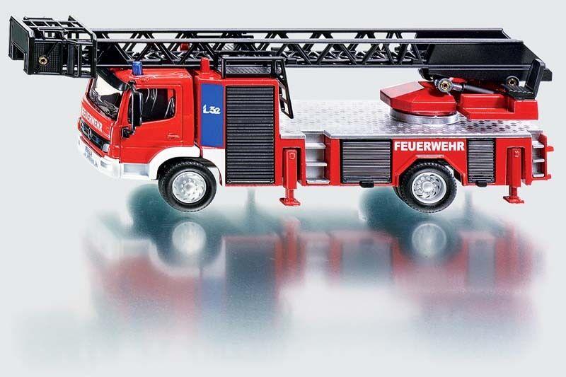 SUPER SIKU 2106 Feuerwehr Fire Engine with Turntable 1 50 Diecast Model Vehicle