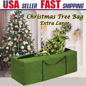 Large Heavy Duty Artificial Christmas Tree Storage Bag PE Container Box 5/' to 9/'