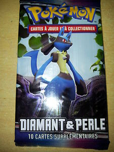 Booster pokemon diamant et perle base dp1 neuf fr carte pokemon lucario ebay - Pokemon rare diamant ...