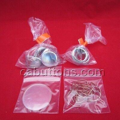 """1000 pcs 1"""" inch Tecre Complete Pinback Button Badge Machine Parts Set"""