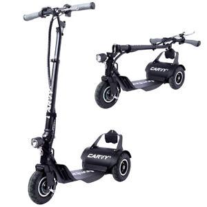 Carvy-Escooter-Elektro-Roller-Elektroroller-E-Scooter-20-km-h-24V-Faltbar-120kg