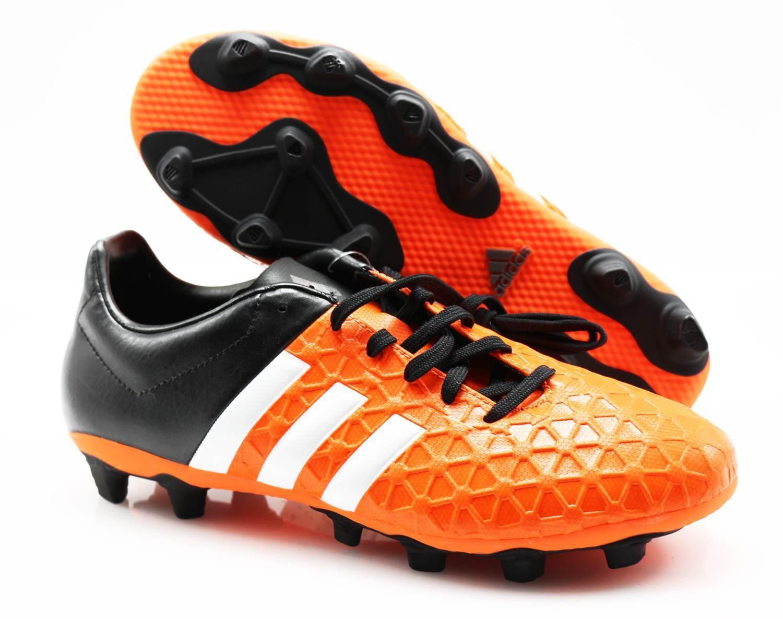 Adidas Fußballschuhe S83171 Ace 15.4 FXG orange black (3) Gr. 39 1 3