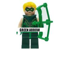 Green Arrow Minifigure Batman Superheroes Justice League