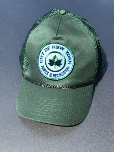 NEW YORK parks and recreation vintage uniform hat