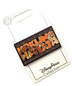 Disney-Parks-Lion-King-Hakuta-Matata-Simba-Nala-Timon-Pumbaa-Trading-Pin-NEW