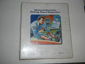1995 GM ADVANCED ELECTRONIC STRATEGY BASED DIAGNOSTICS SERVICE TRAINING WORKBOOK
