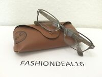 Authentic Rayban Titanium/brown Rb8707 1073 Eyeglasses