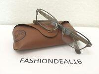 Authentic Rayban Titanium/brown Rb8707 1073 Eyeglasses