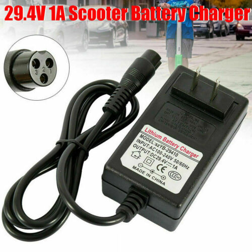 Details about  /24V 1A 24W Adapter Charger Power Cord Supply for Balancing Scooter Hoverboard
