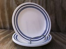 Corelle Dishes Classic Cafe Blue Set Of 4 Small Bread & Butter, Dessert Plates