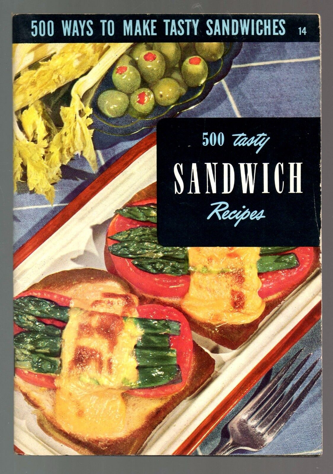 500 sandwich recipes                                     for sale click here