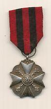 Zilveren Belgische Medaille van de civiele Leopold orde