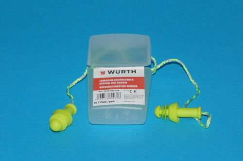etc verschiedene Artikel zur Auswahl Ohrstöpsel Würth Gehörschutz