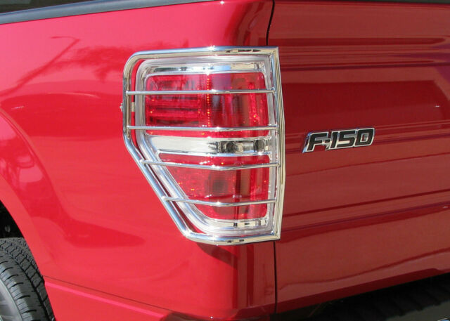 2009-2014 Ford F-150 Stainless Steel Tail Light Guards Protector