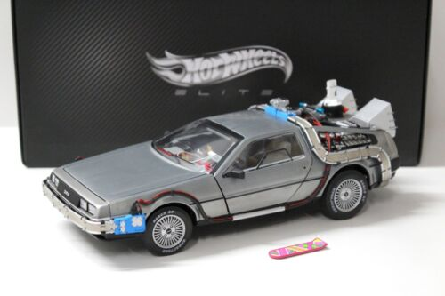 1:18 Elite DMC-12 DeLorean Back to the Future BCJ97 NEW bei PREMIUM-MODELCARS
