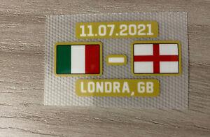 Toppa patch Match Day Italia Inghilterra Euro 2020 Londra Calcio Maglia Serie A