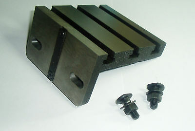 "RDGTOOLS 4-1/2"" TEE SLOTED ANGLE PLATE FOR MYFORD LATHE"