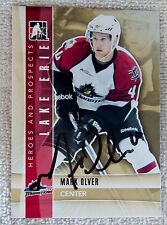Colorado Avalanche Mark Olver Signed 11/12 ITG H&P Lake Erie Monsters Auto Card