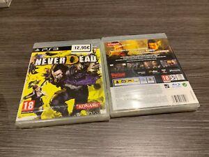 Never Tot PS3 IN Spanisch Versiegelt Neu Verschlossen Pal