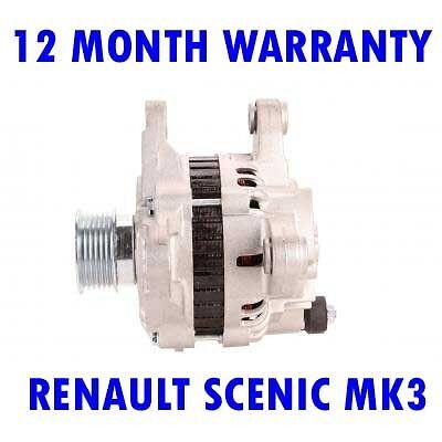 RENAULT SCENIC MK3 MK III 1.5 DCI MPV 2009 2010 2011 2012-2015 ALTERNATOR