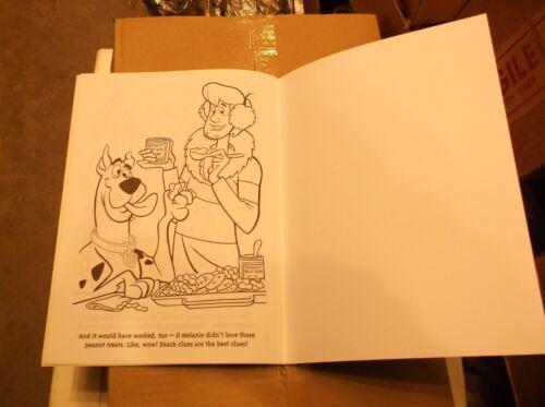 2 New Sticker Color Books Scooby Doo Jingle Chills Merr