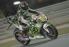 Alvaro Bautista Hand Signed GO&FUN Honda Gresini 12x8 Photo MOTOGP 6.