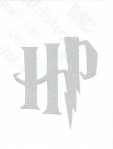 Reflective Harry Potter HP logo initials vinyl decal sticker RTIC window helmet