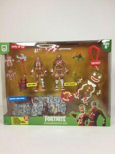 Jazwares-Fortnite-Target-Exclusive-3-75-034-Gingerbread-2-Figure-Clip-Plush-Set