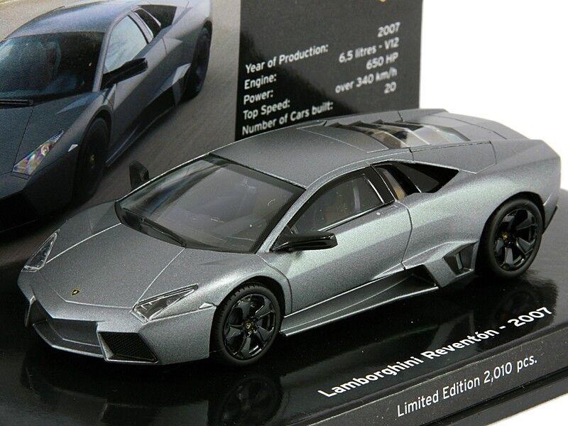 Scale model  LAMBORGHINI REVENTON - 2007 - MATT gris - MUSEUM SERIES