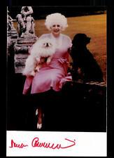 Barbara cartland foto original firmado # bc 58021