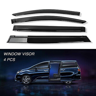 FOR 05-10 HONDA ODYSSEY SMOKE TINT WINDOW VISOR//WIND DEFLECTOR VENT RAIN GUARD
