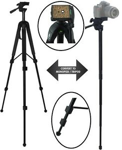 """Robust 68"""" Convertible Tripod-Monopod For Sony FDR-AX33"""