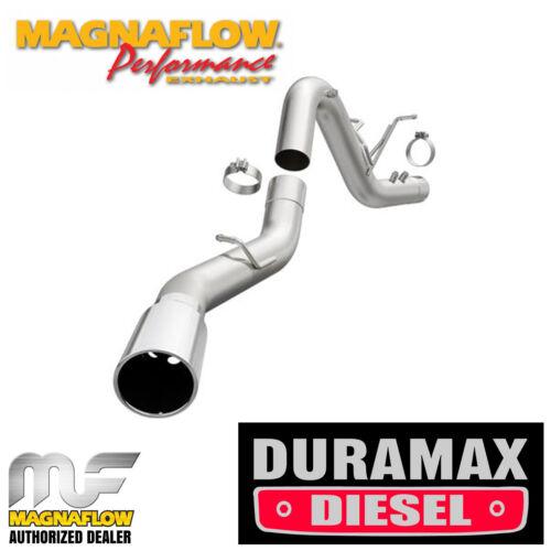 """MAGNAFLOW 4/"""" DPF Back Single Exhaust 2017-2018 Chevy Silverado 2500 3500 6.6L"""