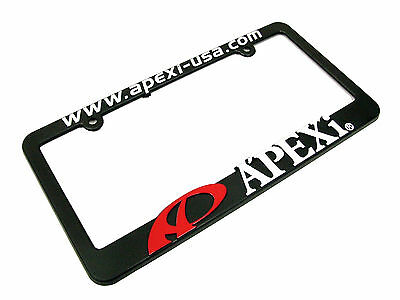 Apexi Red Logo License Plate Frame 100% Genuine