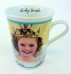 Little-Princess-Shirley-Temple-Coffee-Mug-Cup-Porcelain-Collector-Danbury-Mint