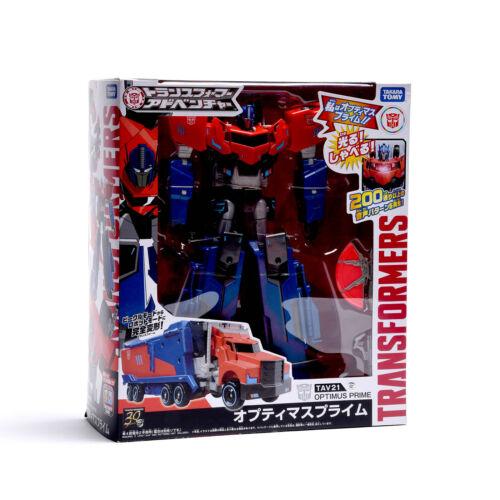 Takara Tomy Transformers Adventure TAV21 Optimus Prime Action Figure New
