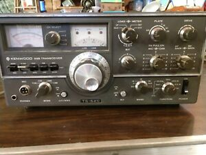 Kenwood-TS-520-80-10M-HF-SSB-CW-Base-Ham-Amateur-Radio-Transceiver-95-W-Working