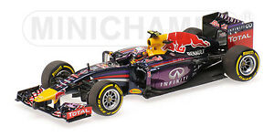 Minichamps - Infiniti Red Bull Renault Rb10 Ricciardo 1er Canada F1 Gp 2014 1/43
