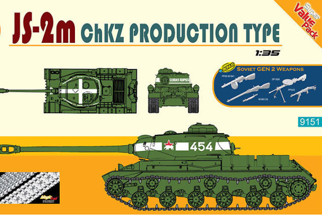 Cyber Hobby 1:3 5 9151 (Dragon): Réservoir JS-2m Chkz Type 51