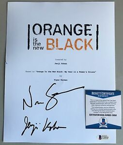 Orange-Is-The-New-Black-Script-Signed-Jenji-Kohan-Nick-Sandow-Beckett-Cert