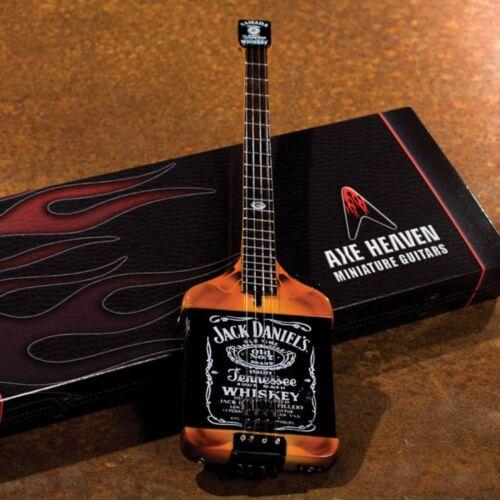 Jack Daniels Electric Bass Model Miniature Guitar Replica Collectible 000124397